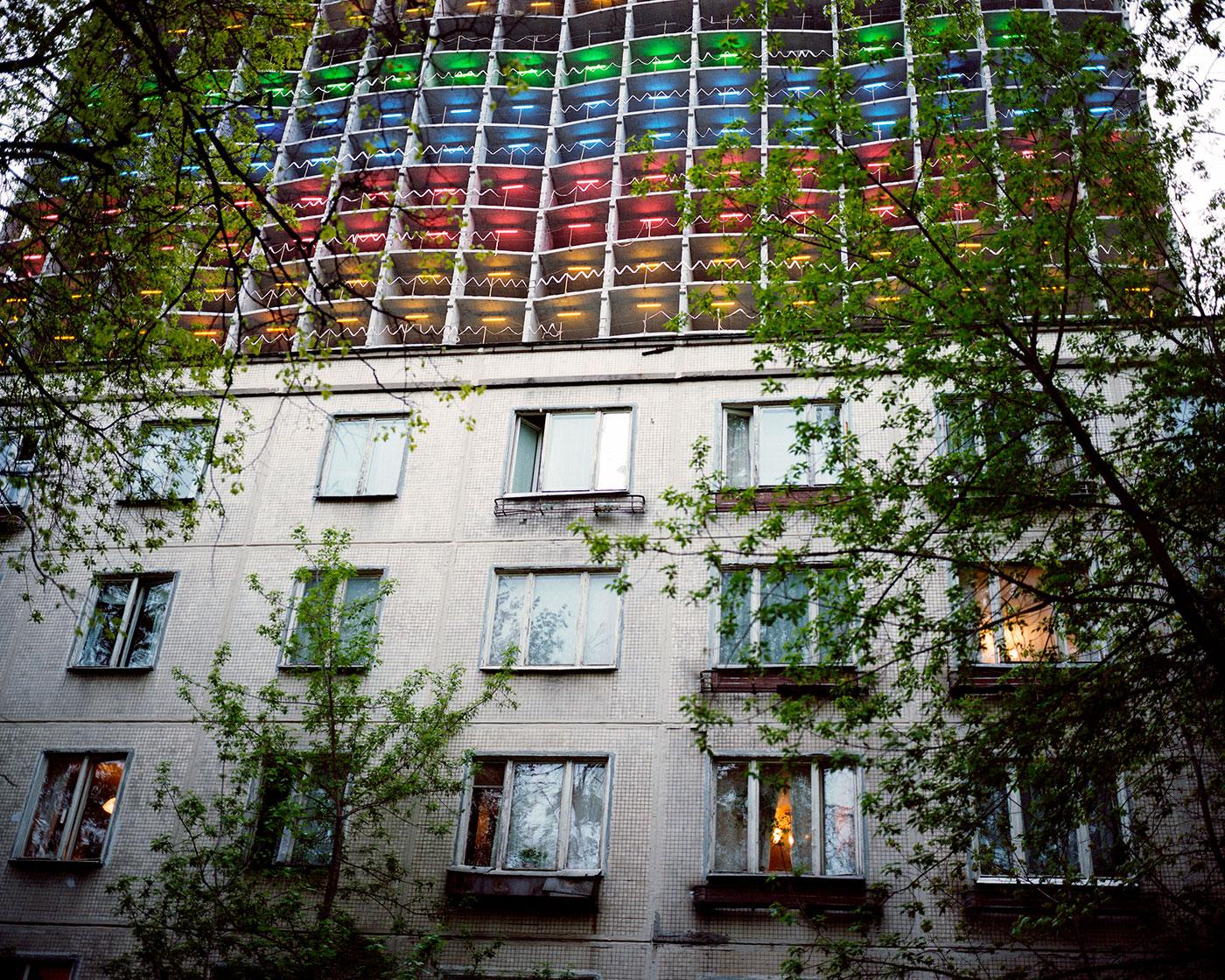 Khrushchovkas, Moscú, Rusia, 2010